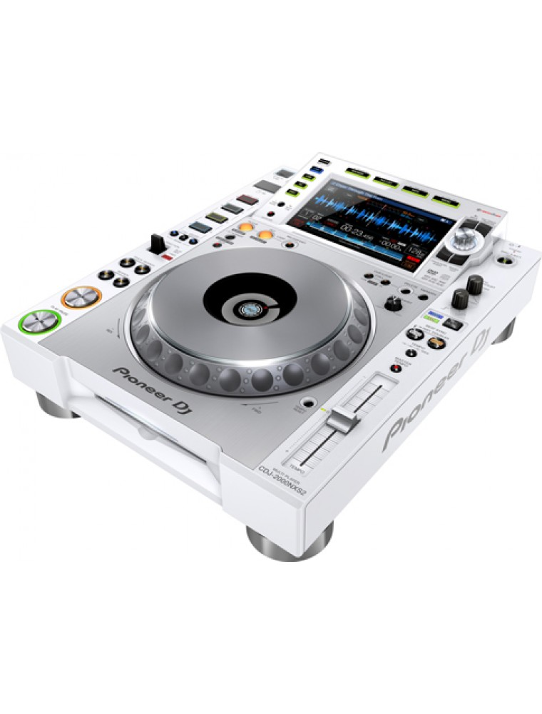 pioneer dj cdj 2000 nxs 2 white dj corner. Black Bedroom Furniture Sets. Home Design Ideas